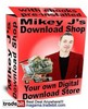 Thumbnail FULLY AUTOMATED digital download eBook website, preinstalled