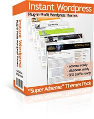 Product picture 30 Instant WordPress Themes with Master Resale Rights