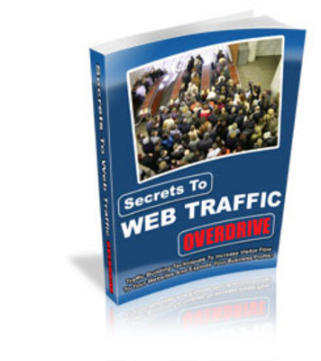 Product picture Secrets to Web Traffic Overdrive