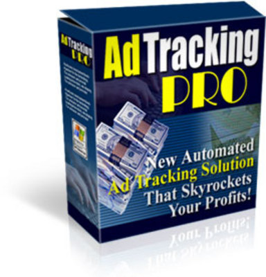 Product picture Ad Tracking Pro With PLR MRR and Source Code