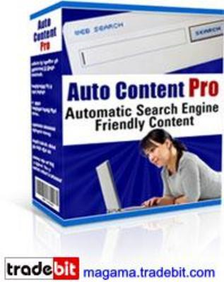 Product picture Auto Content Pro, Automatically Updates Your Website MRR!