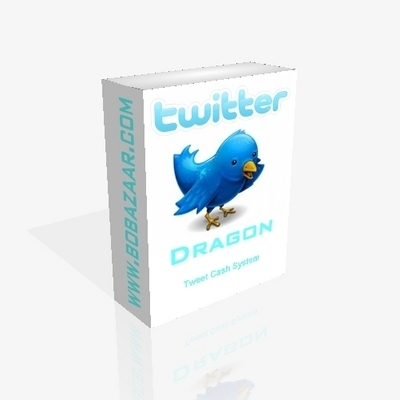 Product picture Twitter Dragon - Tweet Cash System